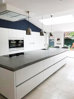 Home extension in Kildare - kitchen