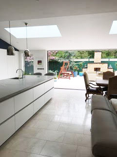 Home extension in Kildare - kitchen, living romm