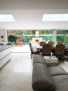 Home extension in Kildare - open plan